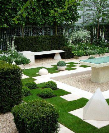 Contemporary Family Garden Design Ideas Contemporary Garden Design ...