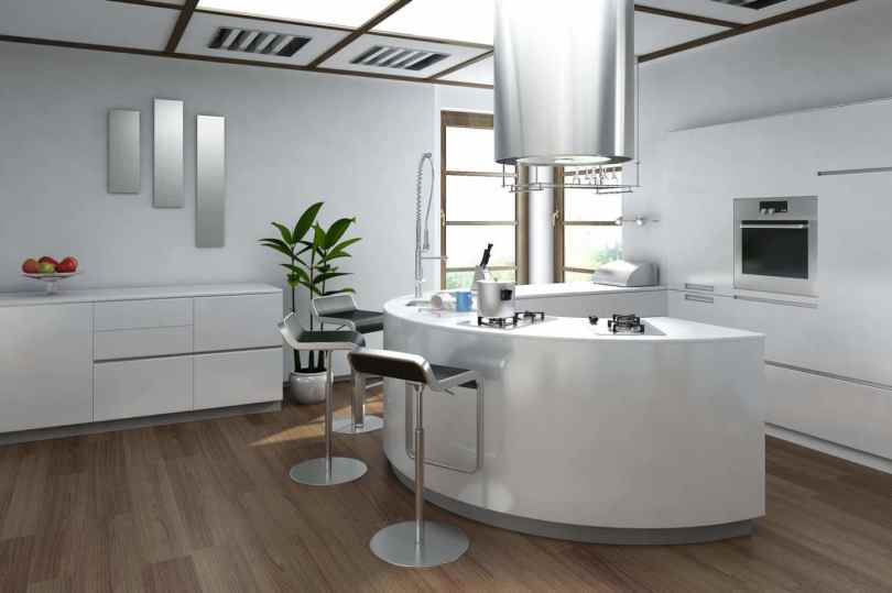 effortlessly combine class with comfort with these elegant bar stools for your contemporary kitchen