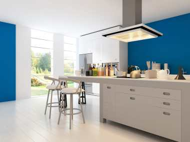 contemporary kitchen and bar stools with trendy modern look