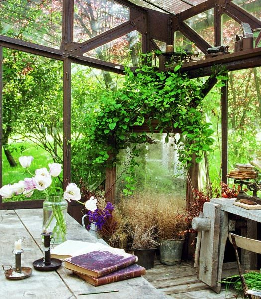 Definitely Not A Typical French Country Patio