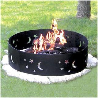 Evening Sky Campfire Ring
