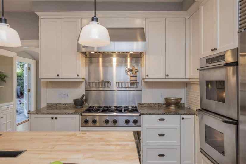 gray and white kitchens