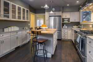 trending grey kitchen design