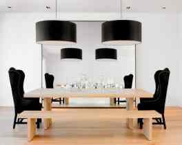 rich yet modern kitchen bench seating