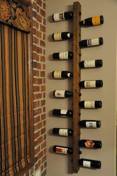 Reclaimed Wood Industrial Wine