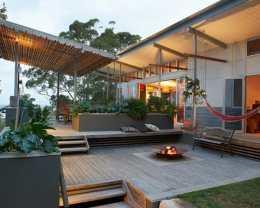Coastal Patio design
