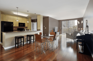 small open plan kitchen and living room is one of the sought-after house plans available today