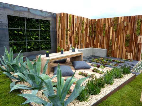 industrial garden design ideas