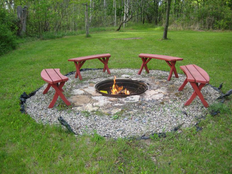 In Ground Fire-pit