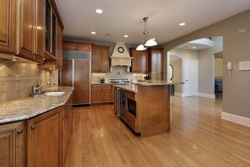 stunning flooring types for kitchen images - home design ideas
