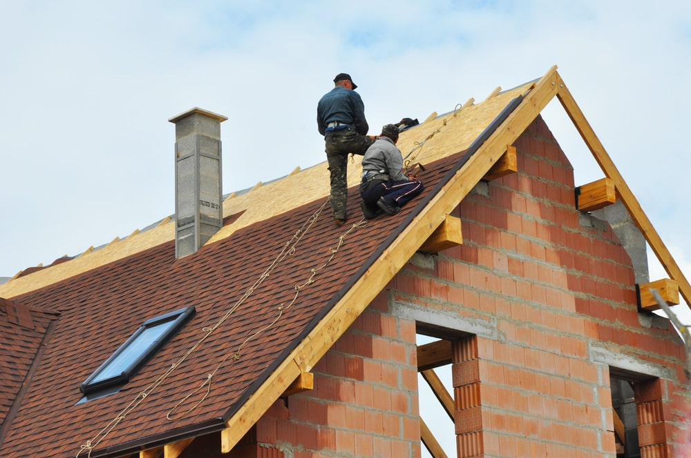 how to reroof a house