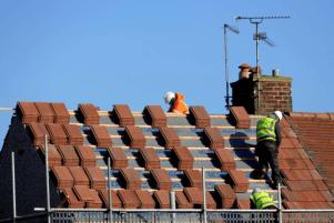 retiling a roof