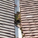 Unblocking a roof valley & Roof valley repair costs