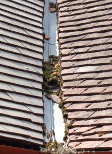 Unblocking A Roof Valley U0026 Roof Valley Repair Costs