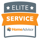 HomeAdvisor Elite Service Award - Job Well Done Cleaning