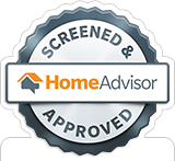 Ridge Valley Heat & Air is a Screened & Approved HomeAdvisor Pro