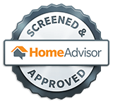 Joe Knows Roofs is a Screened & Approved HomeAdvisor Pro