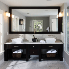 Cost To Refinish Kitchen Cabinets Crown Molding For 2015/2016 Bathroom Remodel Trends | Homeadvisor