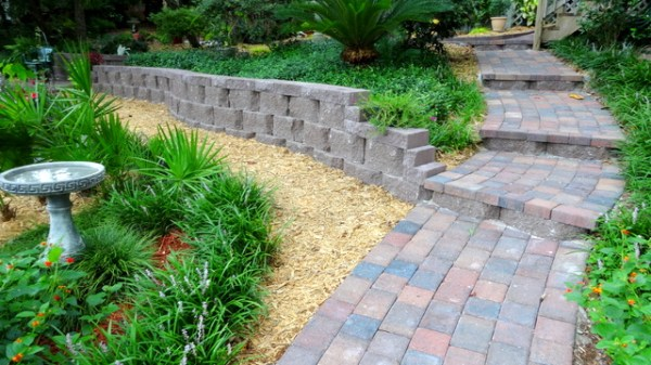 retaining walls - garden