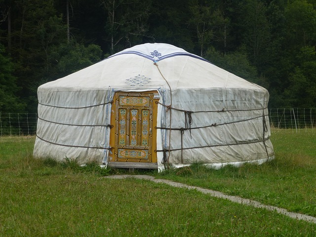 painting kitchen cabinets cost decorate portable, versatile yurts - yurt building homeadvisor