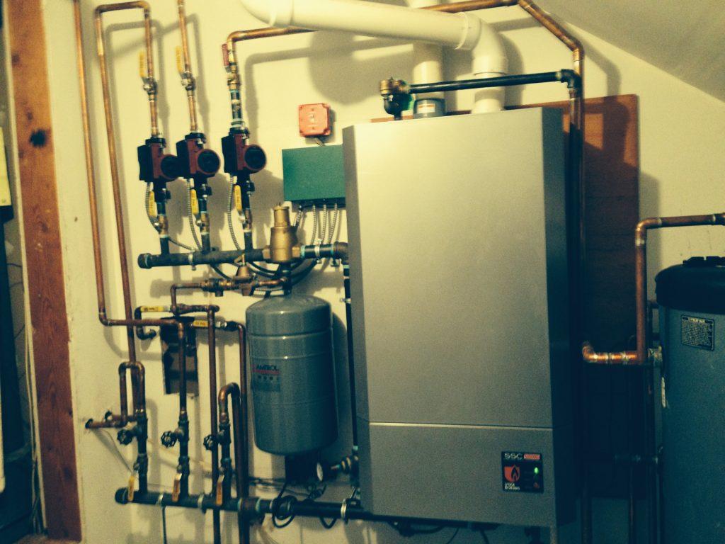Combo Hot Water Heater Boiler Facias