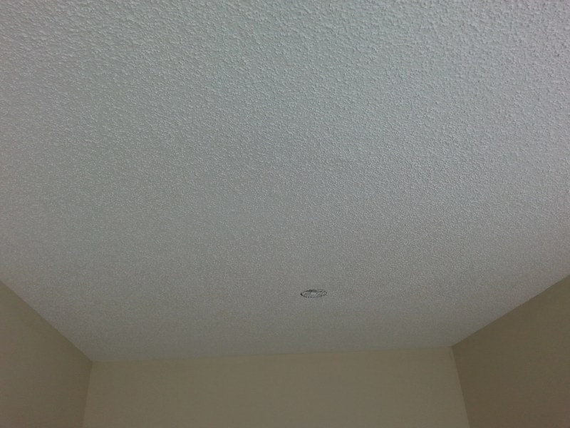 Water Stains On Plaster Ceiling