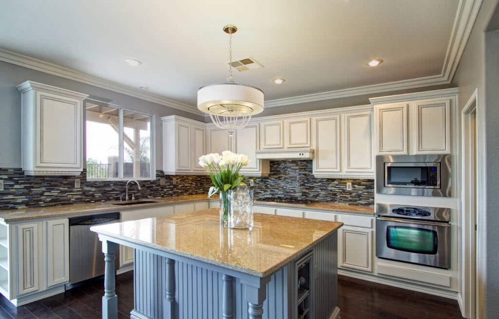 refacing kitchen cabinets cost oil rubbed bronze pull down faucet or refinishing | homeadvisor