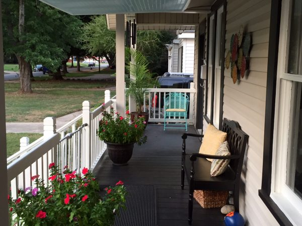 cost of remodeling a kitchen cabinet paint colors front porch design - back design, open & screened