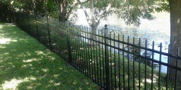aluminum fences aluminum fencing