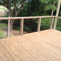 Cost To Refinish Kitchen Cabinets Small Islands With Seating Cable Rail - Fencing & Railing, Boundaries ...