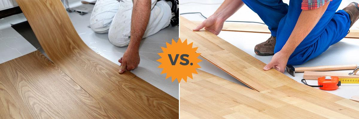 Complete Guide to Laminate vs Vinyl Flooring Plank Luxury etc  HomeAdvisor