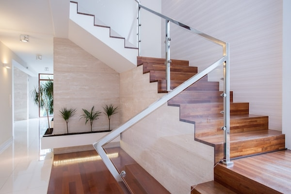 2020 Glass Deck Stair Railing Costs Per Foot Homeadvisor | Wrought Iron Stair Railings Interior Near Me | Porch Railing Ideas | Stair Treads | Balcony Railing | Stair Parts | Iron Staircase