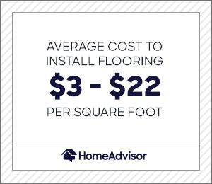 2021 cost of flooring installation