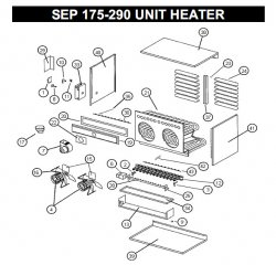 INDUCED DRAFT MOTOR (ASSEMBLY) Part #76714300 ADP Unit