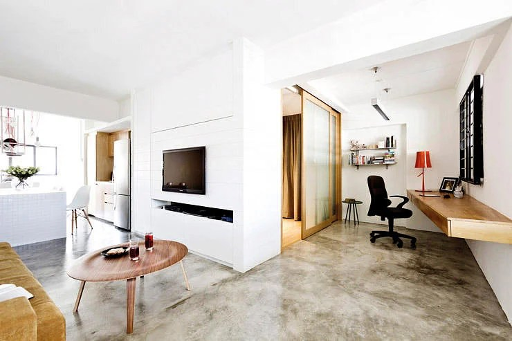 Concrete screed  the lookalikes  Home  Decor Singapore