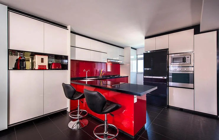 10 Ways To Inject Bold Colours Into Your Kitchen Home Amp Decor Singapore
