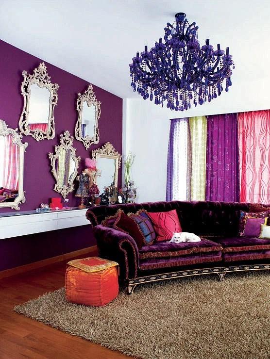 living room drapery ideas pouf in 10 boho chic decor | home & singapore