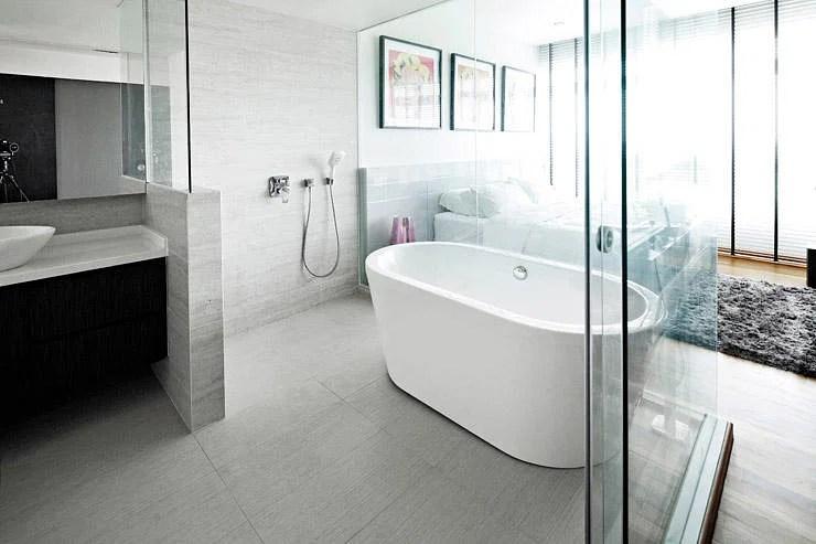 8 beautiful openconcept bathroom designs  Home  Decor