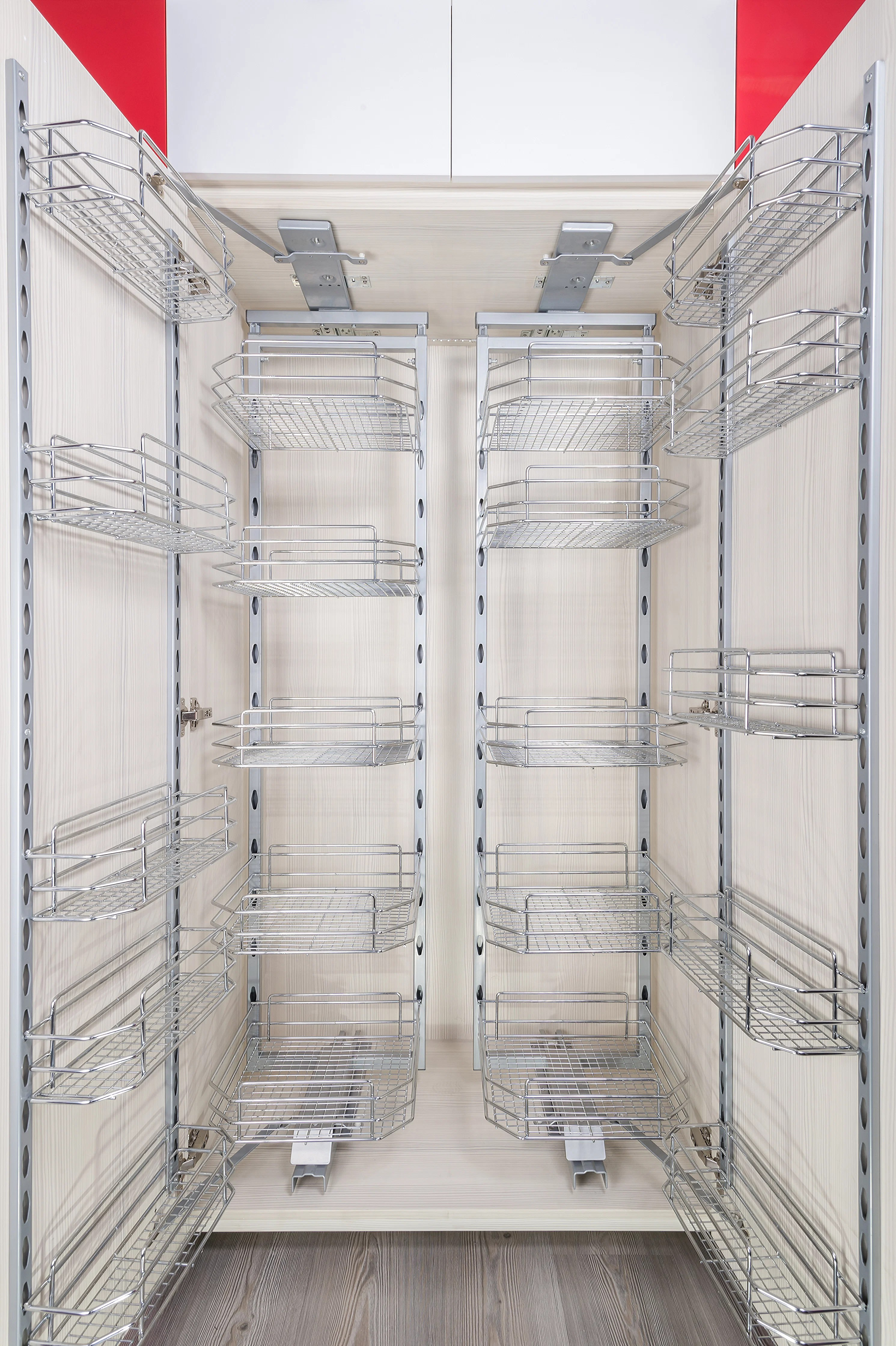kitchen wire storage outdoor home depot 5 types of baskets to organise cabinets decor singapore solutions