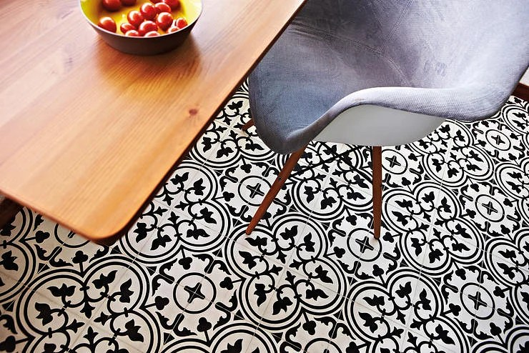 How To Use Vintage Style Patterned Peranakan Tiles Home