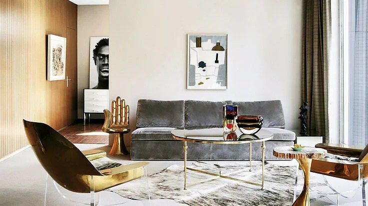 Home interior design trend for 2016 Mixed Metals  Home