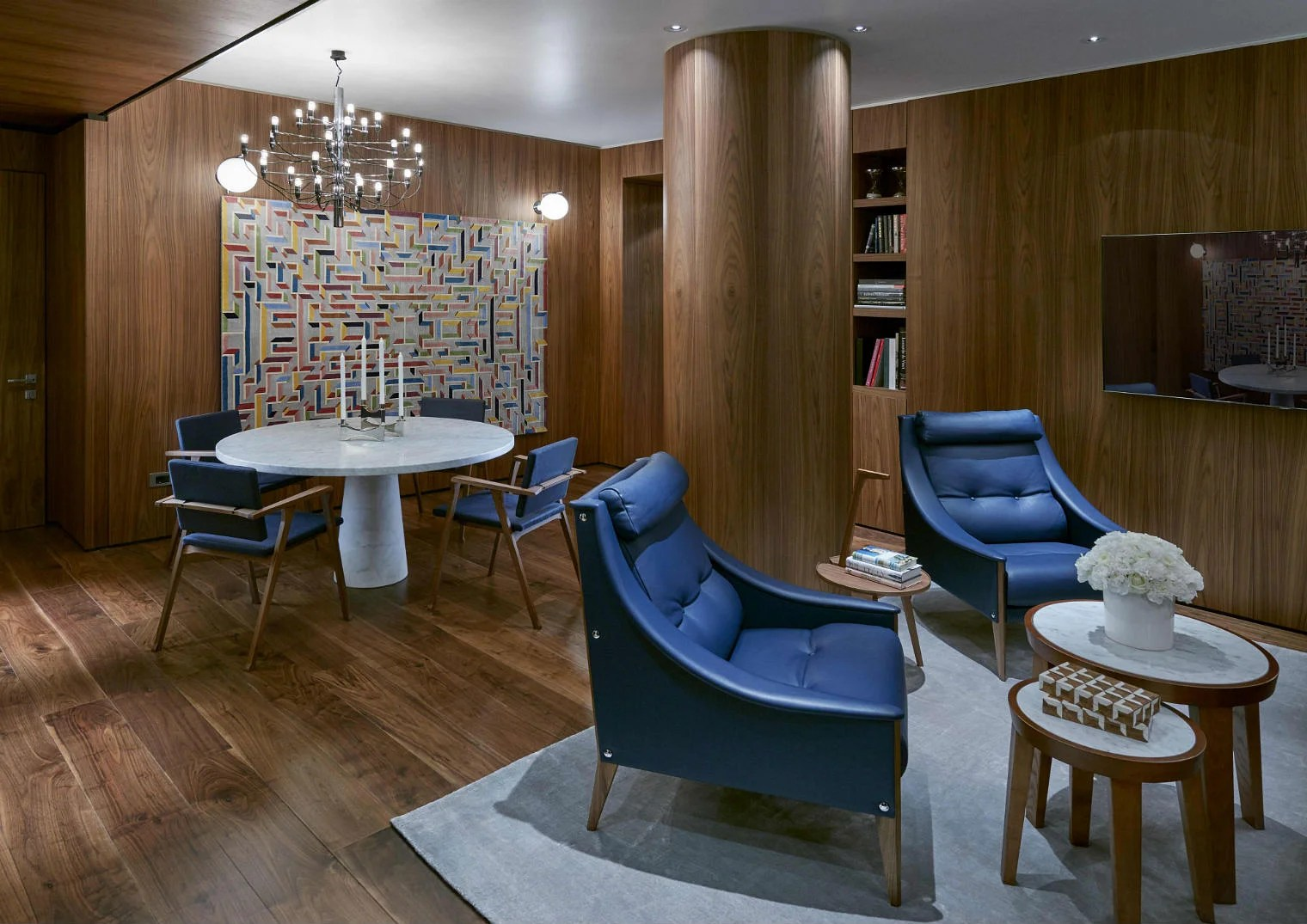 Amazing hotel rooms inspired by Piero Fornasetti and Gio