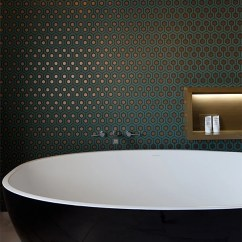 Black And Gold Living Room Ideas Wet Bar For 7 Bathroom Feature Walls | Home & Decor Singapore
