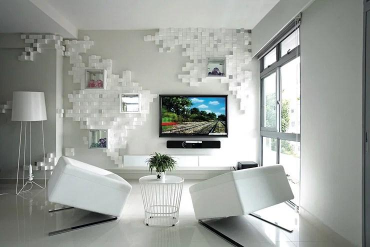 House Tour Unique features in this 35000 mostlywhite twobedroom condo unit  Home  Decor