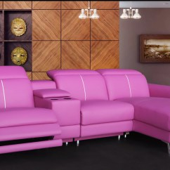 Pink Leather Sofas Sofa Leg Corner Be Different  Make Your Living Room Unique With These