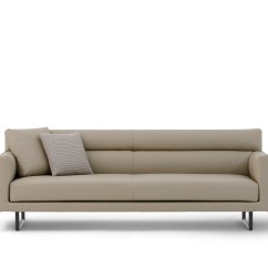 Crescent Sofa Camerich Brown Leather Modern Decorating Ideas Prices