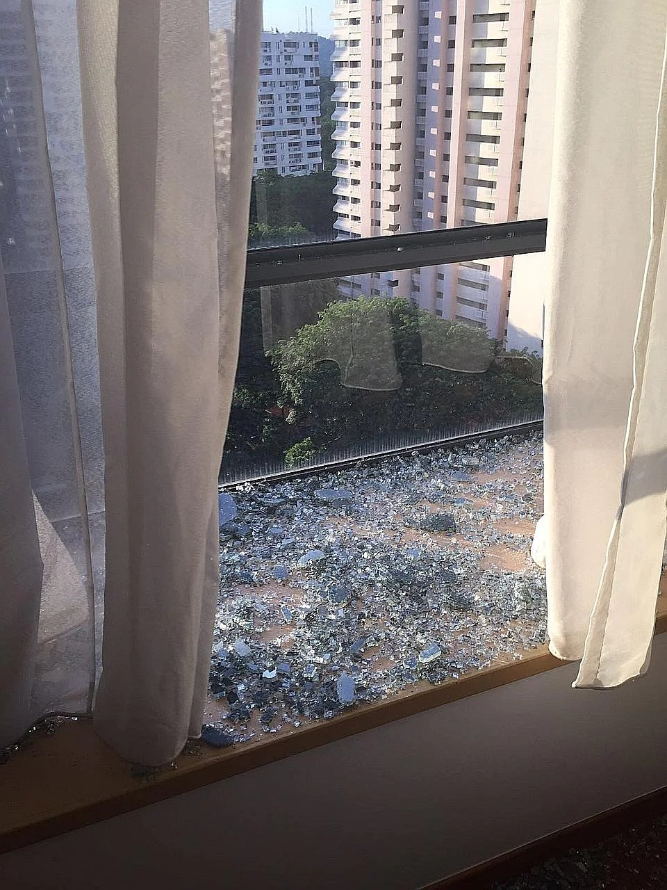 Find out why a window at this condo spontaneously shattered  Home  Decor Singapore