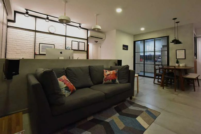 House Tour 60000 clean and minimalist 5room HDB home
