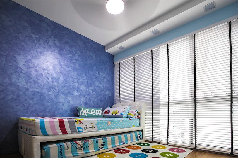 Feature Wall Design Special Effects Paint Creates Eye Catching Designs Home Amp Decor Singapore