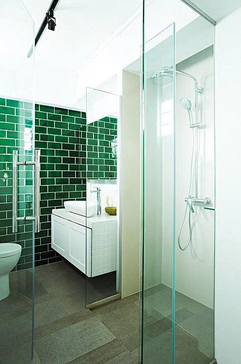7 simple but modern HDB flat bathroom designs  Home